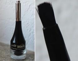 Produktbild zu p2 cosmetics 100% black gel eyeliner waterproof – Farbe: 010 blackest black