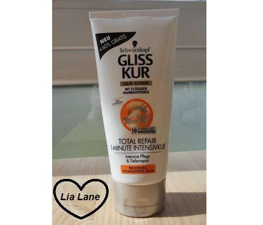 Schwarzkopf GLISS KUR Hair Repair Total Repair 1-Minute Intensivkur
