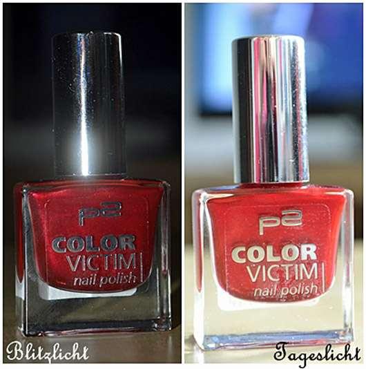 p2 color victim nail polish, Farbe: 650 fever