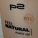 p2 feel natural make-up, Farbe: 015 natural ivory
