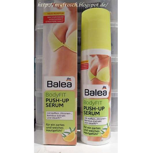 test anti cellulite balea bodyfit push up serum. Black Bedroom Furniture Sets. Home Design Ideas