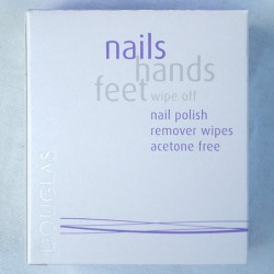 Produktbild zu Douglas nails hands feet wipe off nail polish remover wipes