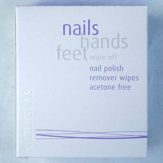<strong>Douglas nails hands feet</strong> wipe off nail polish remover wipes