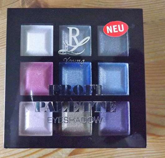 Rival de Loop Young Profi Palette Eyeshadow, Farbe: 01 disco fever