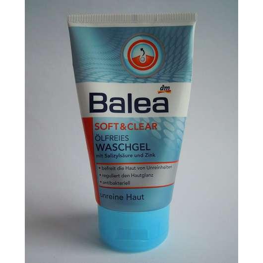 Balea Soft & Clear Ölfreies Waschgel