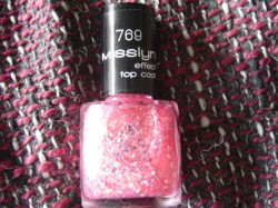 Produktbild zu Misslyn Effect Top Coat – Farbe: 769 Pink Lady
