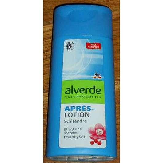 alverde Après-Lotion Schisandra