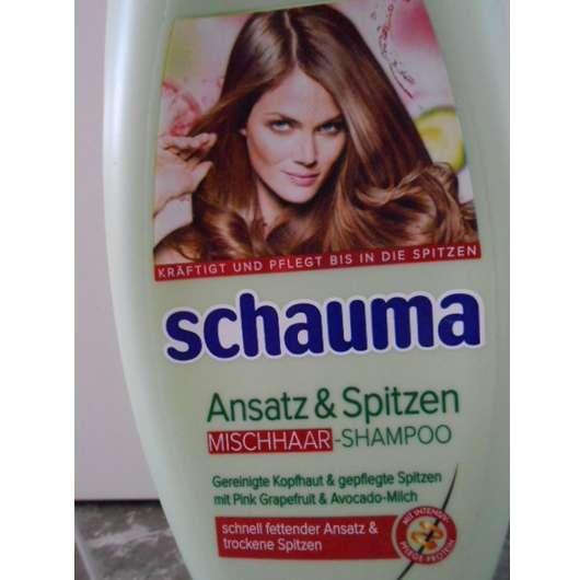 Test Shampoo Schwarzkopf Schauma Ansatz Spitzen Mischhaar