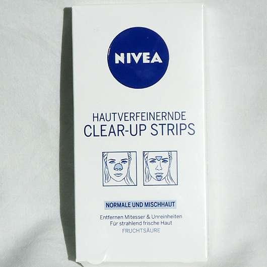 NIVEA Hautverfeinernde Clear-Up Strips (Normale und Mischhaut)