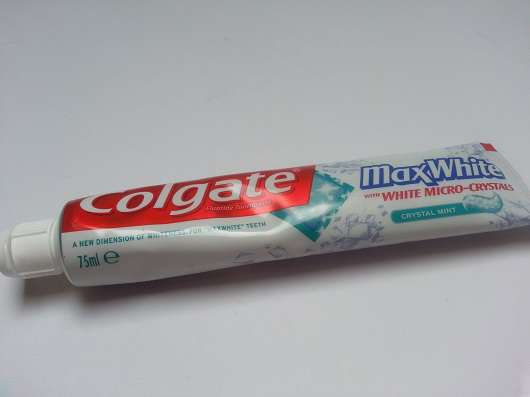 <strong>Colgate</strong> Max White Crystal Mint Zahncreme