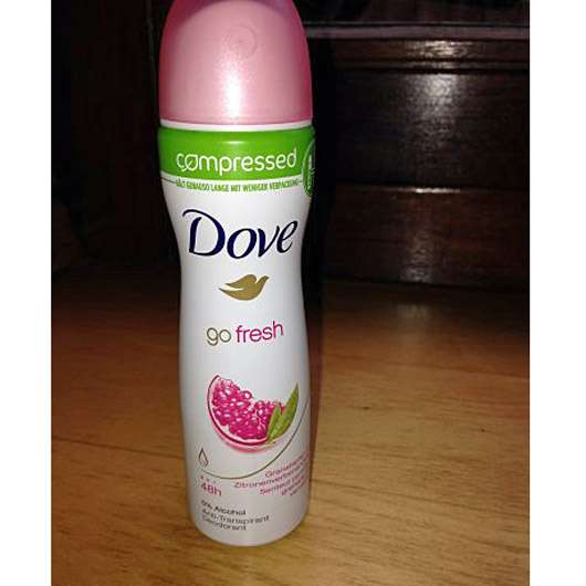 Dove go fresh compressed Deo-Spray Granatapfel- & Zitronenverbenenduft