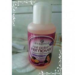 Produktbild zu essence nail polish remover nail hardening (strawberry + passion fruit)