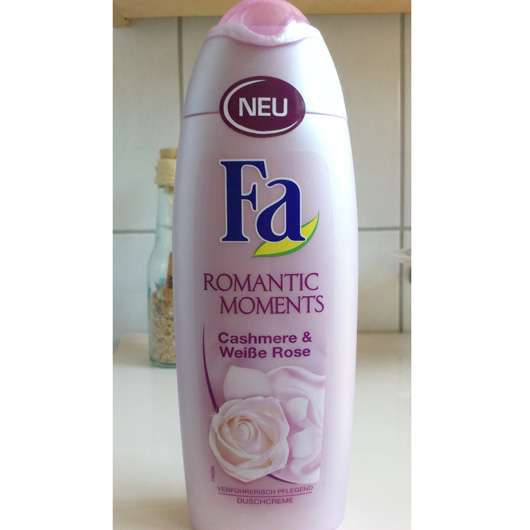 Fa Romantic Moments Cashmere & Weiße Rose Duschcreme