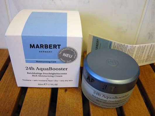 Marbert AquaBooster Reichhaltige Feuchtigkeitscreme (für trockene – sehr trockene Haut)