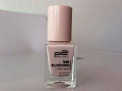 Produktbild zu p2 cosmetics nail foundation + total repair – Farbe: 020 silk