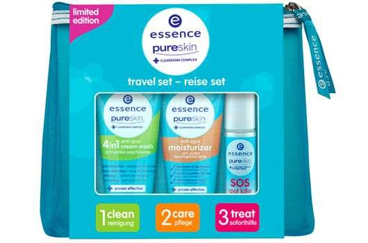 "essence pure skin ""travel set"""