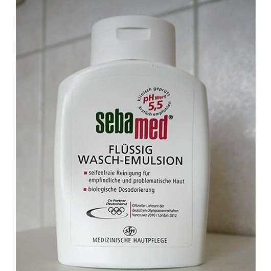 test reinigung sebamed fl ssig wasch emulsion. Black Bedroom Furniture Sets. Home Design Ideas
