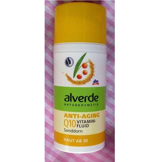 alverde Anti-Aging Q10 Vitaminfluid Sanddorn