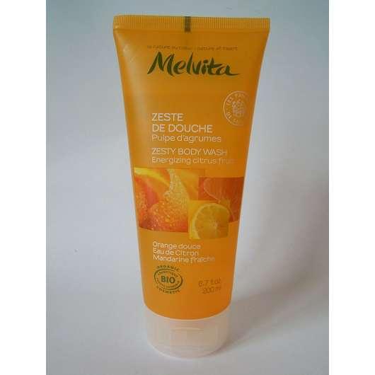Melvita Spritzige Dusche Zitrusfrüchte (Orange, Zitrone, Mandarine)