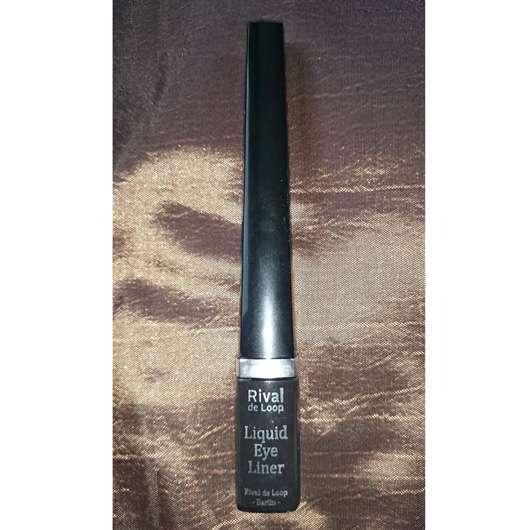 Rival de Loop Liquid Eyeliner, Farbe: 01 Black