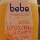 bebe Young Care dreamy shower fluid mit honigduft & nussöl