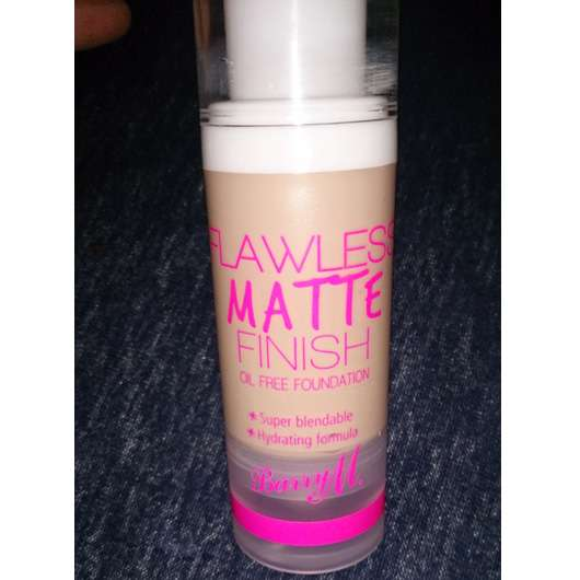 Barry M. Flawless Matte Finish Oil Free Foundation, Farbe: 1 Ivory