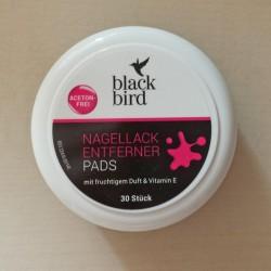 Produktbild zu Blackbird Nagellack Entfernerpads (acetonfrei)