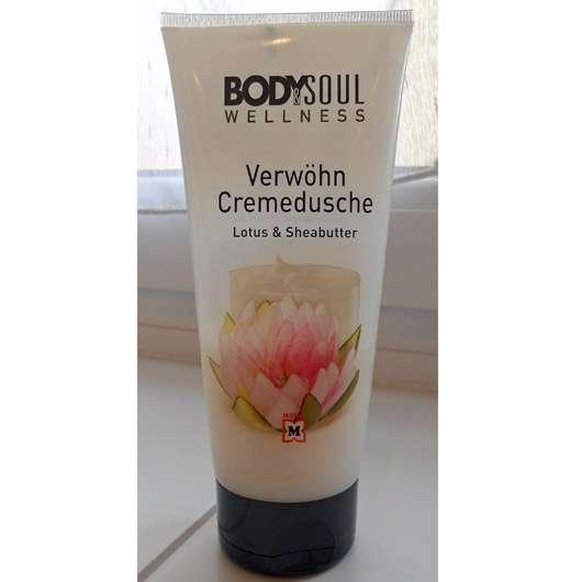 BODY & SOUL WELLNESS Verwöhn Cremedusche Lotus & Sheabutter