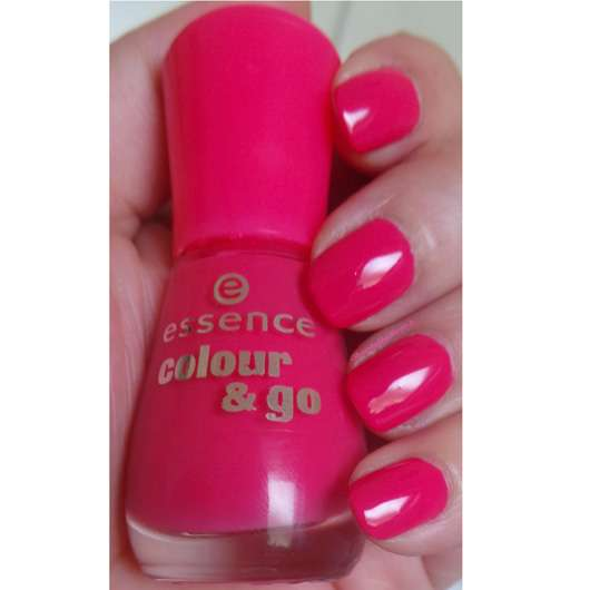Test Nagellack Essence Colour Amp Go Nail Polish Farbe 107 Naughty And Pink Testbericht