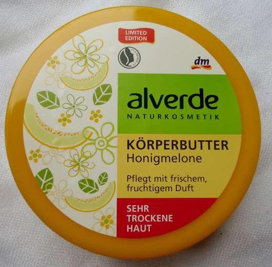 alverde Körperbutter Honigmelone (LE)