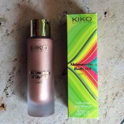 Produktbild zu KIKO Shimmering Body Oil SPF 10 – Farbe: 01 Satin Bronze (LE)