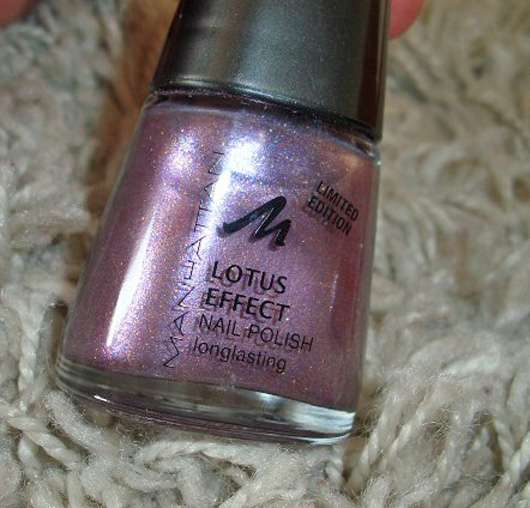 Manhattan Lotus Effect Nail Polish, Farbe: Dusk-Dancer (LE)