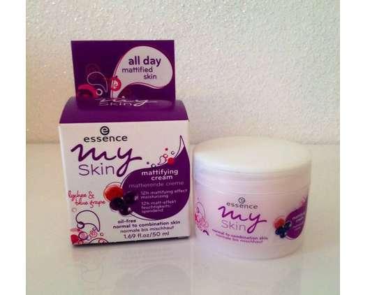 essence my skin mattifying cream (normale bis Mischhaut)