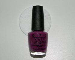 Produktbild zu OPI Nail Lacquer – Farbe: Pamplona Purple