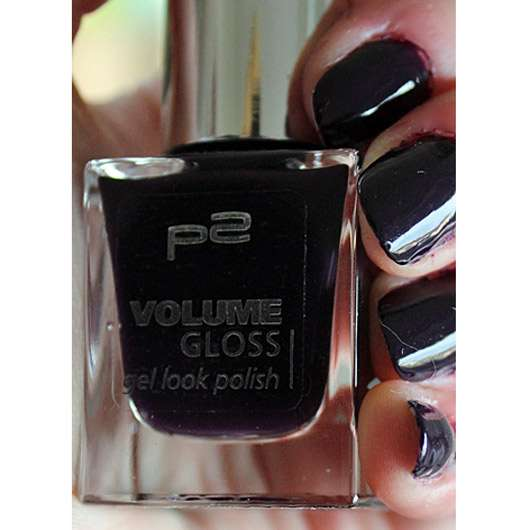Farbe Nach Streichen Fleckig: P2 Volume Gloss Gel Look Polish, Farbe