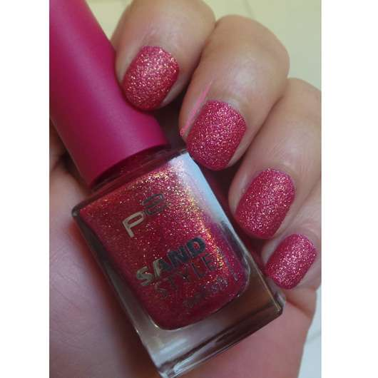 p2 sand style polish, Farbe: 020 lovesome