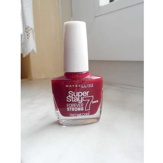 Maybelline Super Stay Forever Strong 7 Days Gel Nail Color, Farbe: 501 Cherry Sin