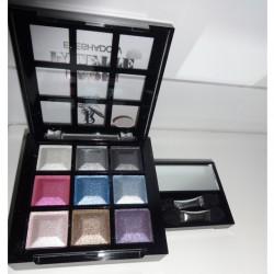 Produktbild zu Rival de Loop Young Profi Palette Eyeshadow – Farbe: 01 disco fever
