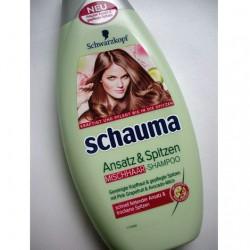 Produktbild zu Schwarzkopf Schauma Ansatz & Spitzen Mischhaar-Shampoo