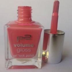 Produktbild zu p2 cosmetics volume gloss gel look polish – Farbe: 060 happy bride