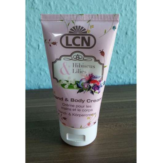 LCN Hand & Body Cream Hibiscus & Lilies (LE)