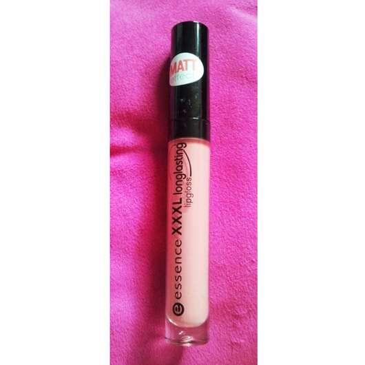 essence XXXL longlasting lipgloss matt effect, Farbe: 05 velvet rose