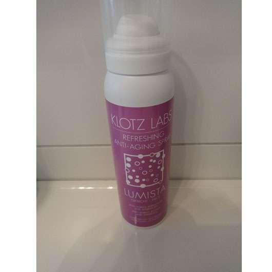Klotz Labs Lumista Refreshing Anti-Aging Spray für das Gesicht