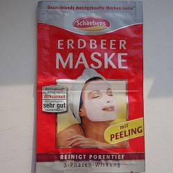 Produktbild zu Schaebens Erdbeer Maske