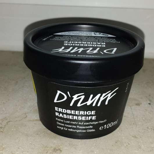 LUSH D'FLUFF (Erdbeerige Rasierseife)