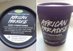 Produktbild zu LUSH African Paradise (Body Conditioner)