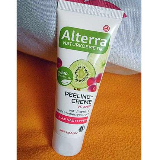 Alterra Peelingcreme Vitamin