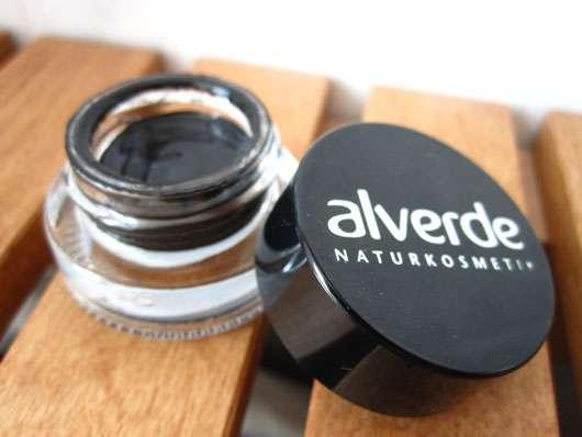 alverde Gel Eyeliner, Farbe: 01 Schwarz
