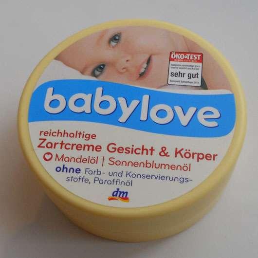 babylove reichhaltige Zartcreme Gesicht & Körper