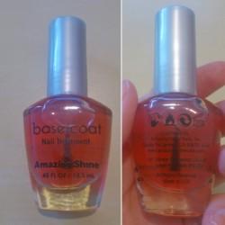 Produktbild zu Amazing Shine Base Coat Nail Treatment